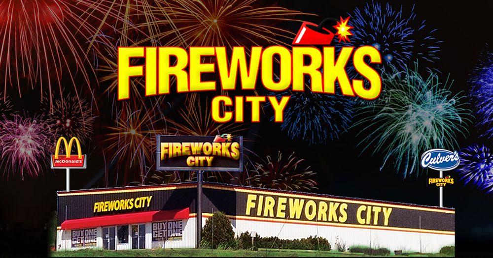 Fireworks City: 740 Baldwin Plaza Dr, Baldwin, WI