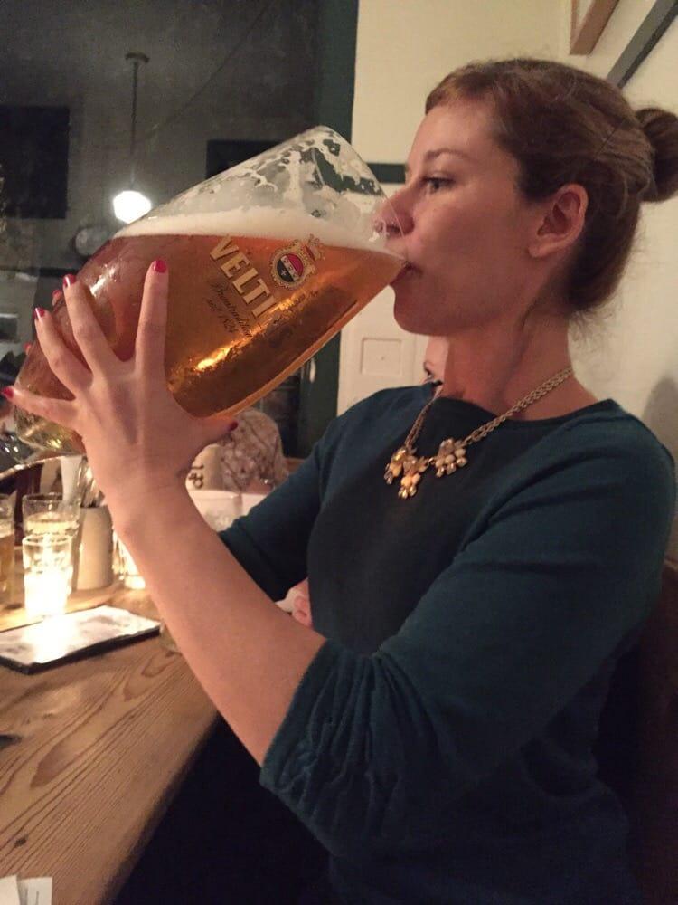 Just drinking meine große Bier - Yelp