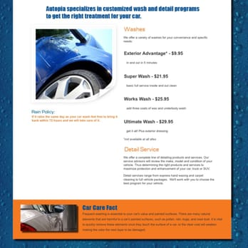 Autopia Car Wash Walnut Creek Review
