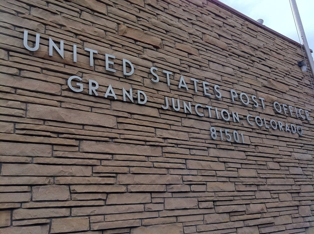 US Post Office: 241 N 4th St, Grand Junction, CO