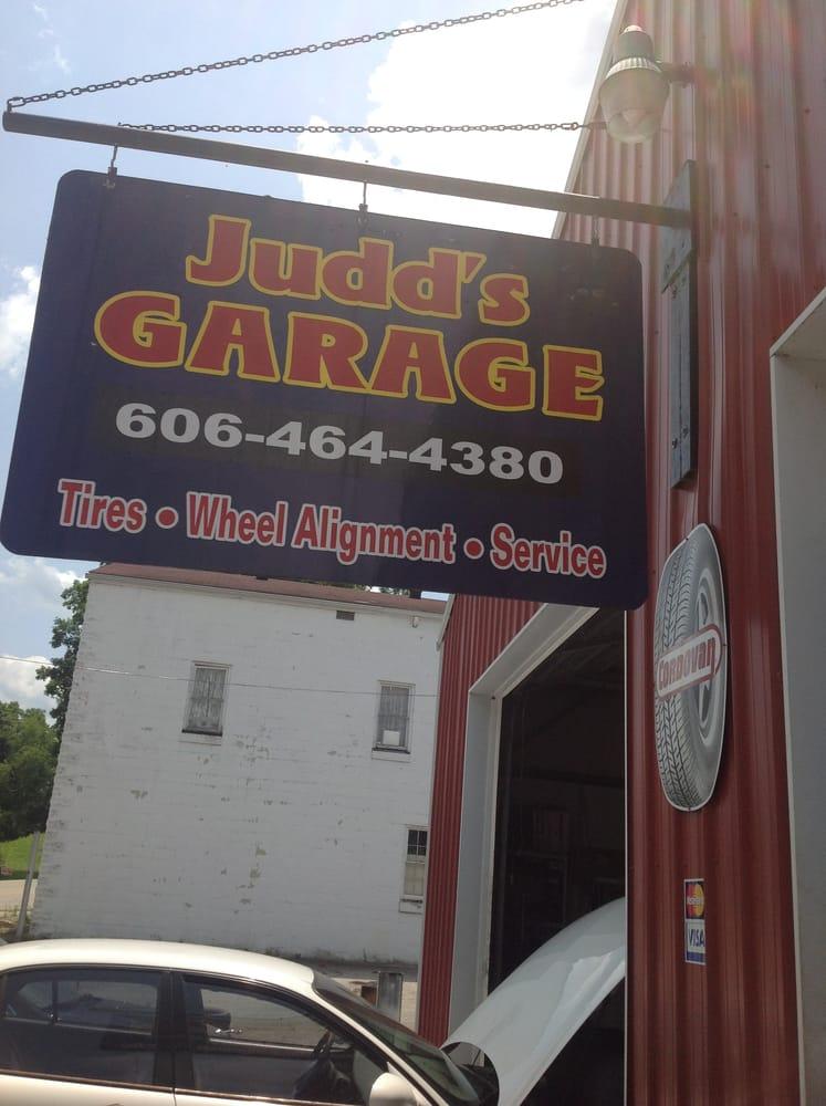 Judd's garage: 2587 Hwy 11S, Beattyville, KY