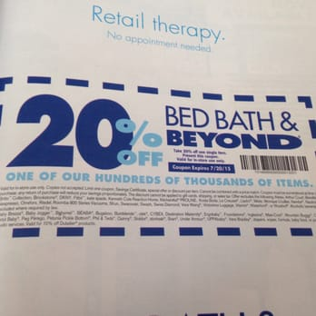 bed bath and beyond 20 off 75 coupon