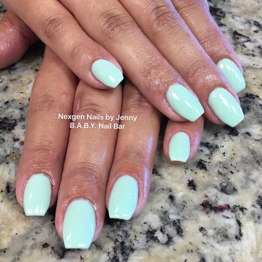 Photo Of B A Y Nail Bar Miami Fl United States Is Mint