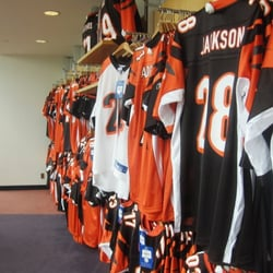 Cincinnati Bengals Pro Shop - Sports Wear - 1 Paul Brown Stadium ... 67303bcc9