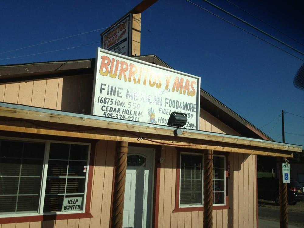 Burritos Y Mas: 16875 US 550, Aztec, NM