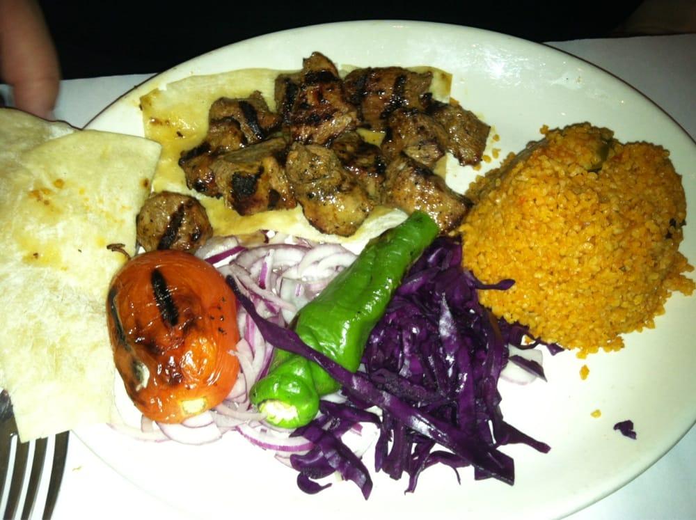Lamb kebob yelp for 1453 ottoman mediterranean cuisine