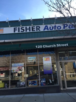 Fisher Auto Parts >> Fisher Auto Parts 120 Church St Whitinsville Ma Body Shop