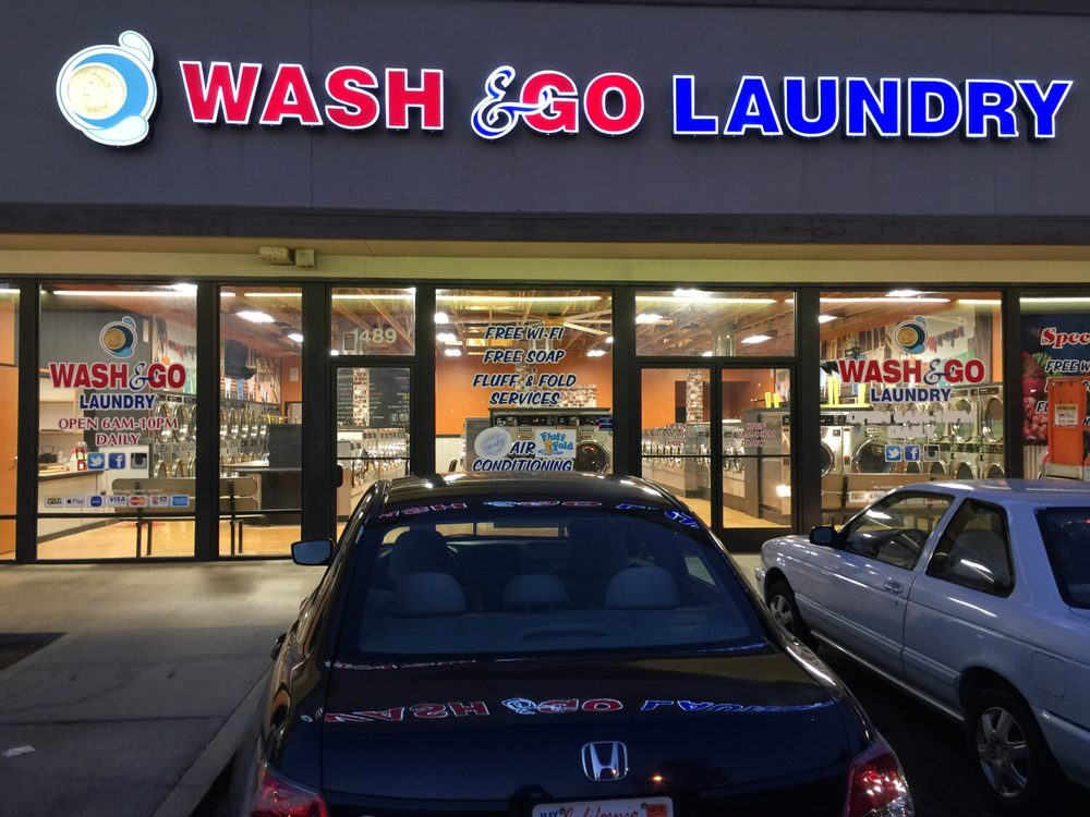 Wash N Go Laundry: 1489 E Plaza Blvd, National City, CA