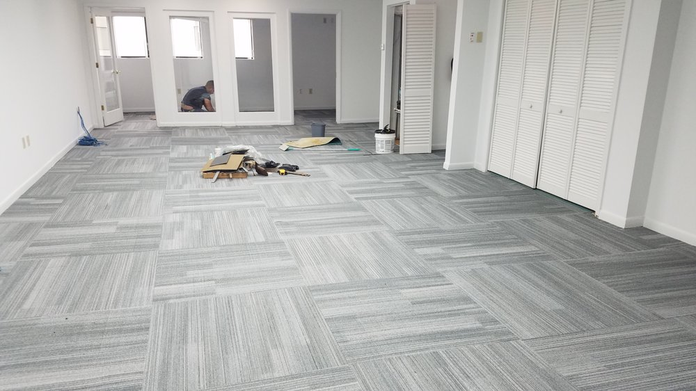Our Carpet Tile Specials Being Installed In Gateway Business Park
