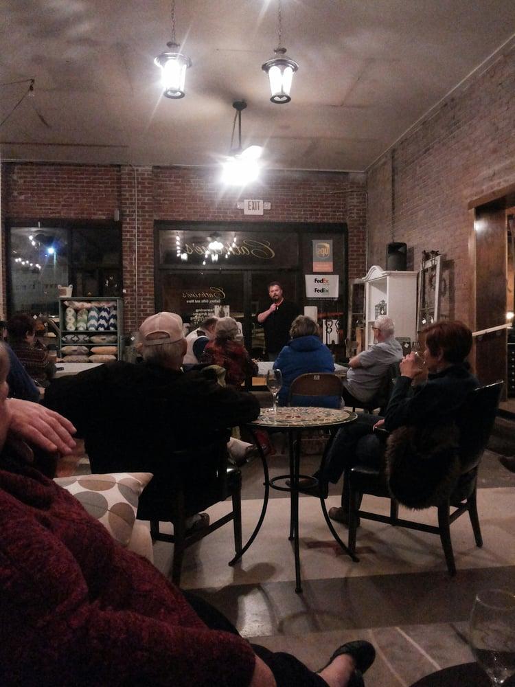 5 West Coffee and Wine Lounge: 5 W Jefferson St, Sullivan, IL