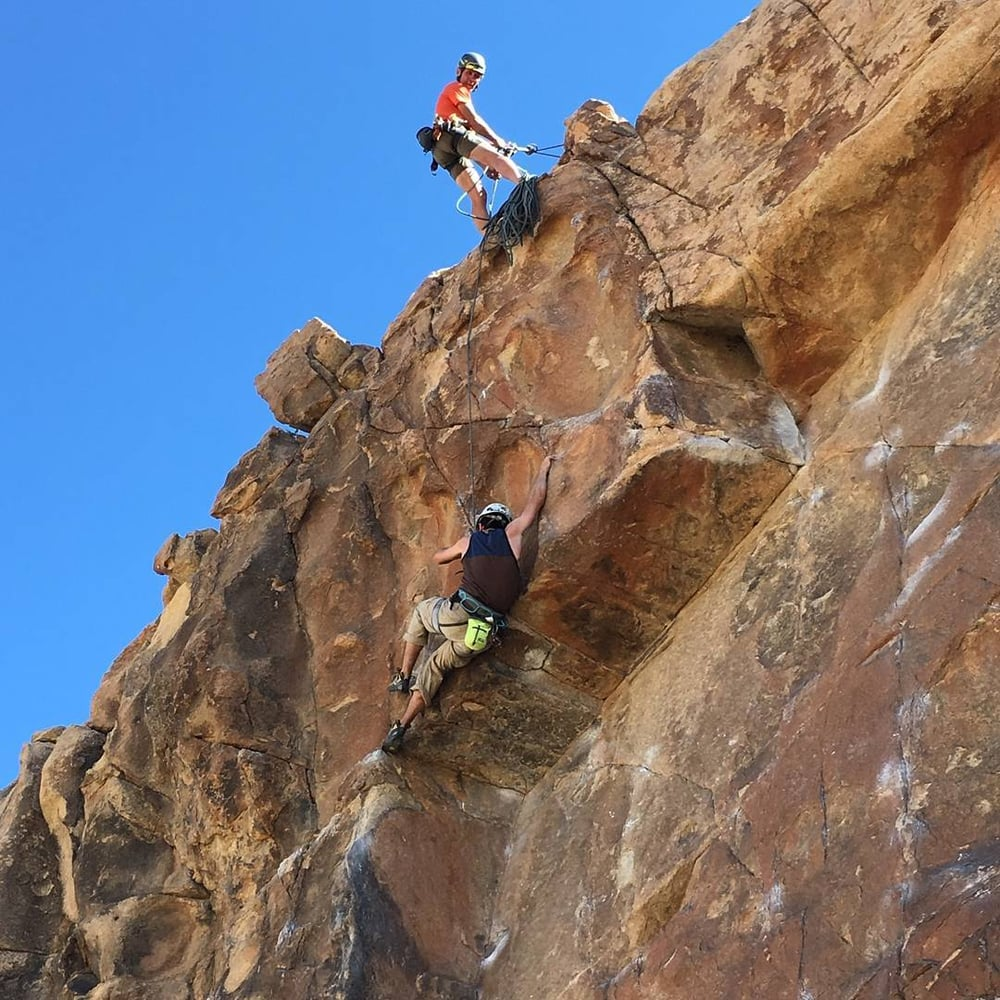 climbing, rock climbing, california, joshua tree