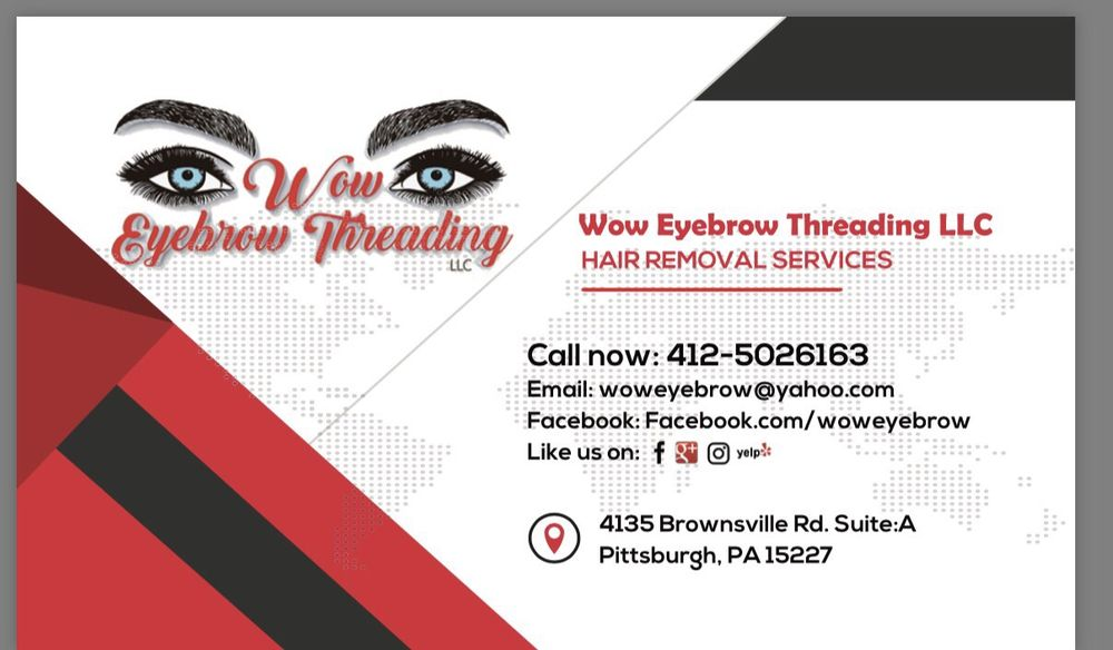Wow Eyebrow Threading Llcs Business Information Yelp