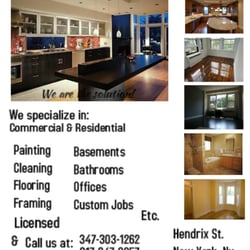 Brooklyn Remodeling Painting solution remodeling company llc  closed  38 photos  flooring