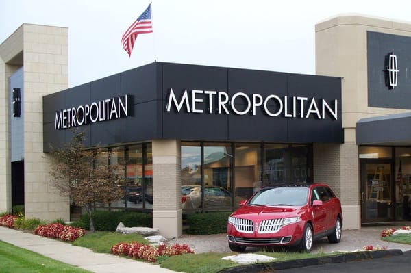 Metropolitan Lincoln Mercury Car Dealers 32000 Ford Rd Garden