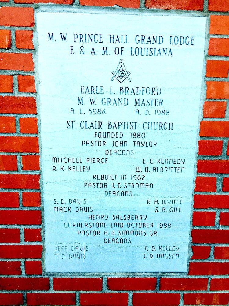 St Clair Baptist Church: Chatham, LA
