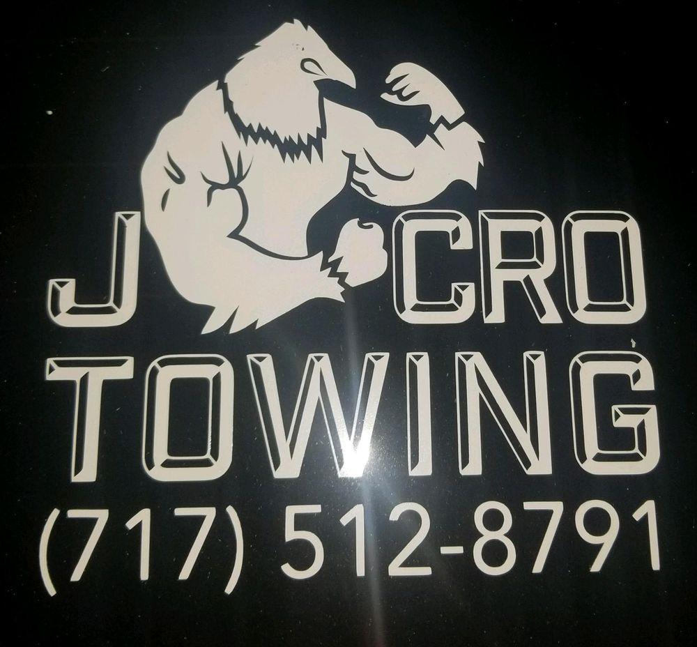 JCro Towing: Dillsburg, PA