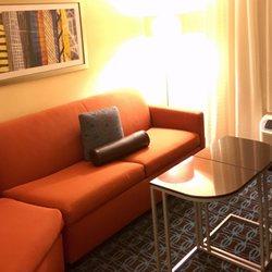 Photo Of Fairfield Inn U0026 Suites   Yukon, OK, United States. Sofa Area