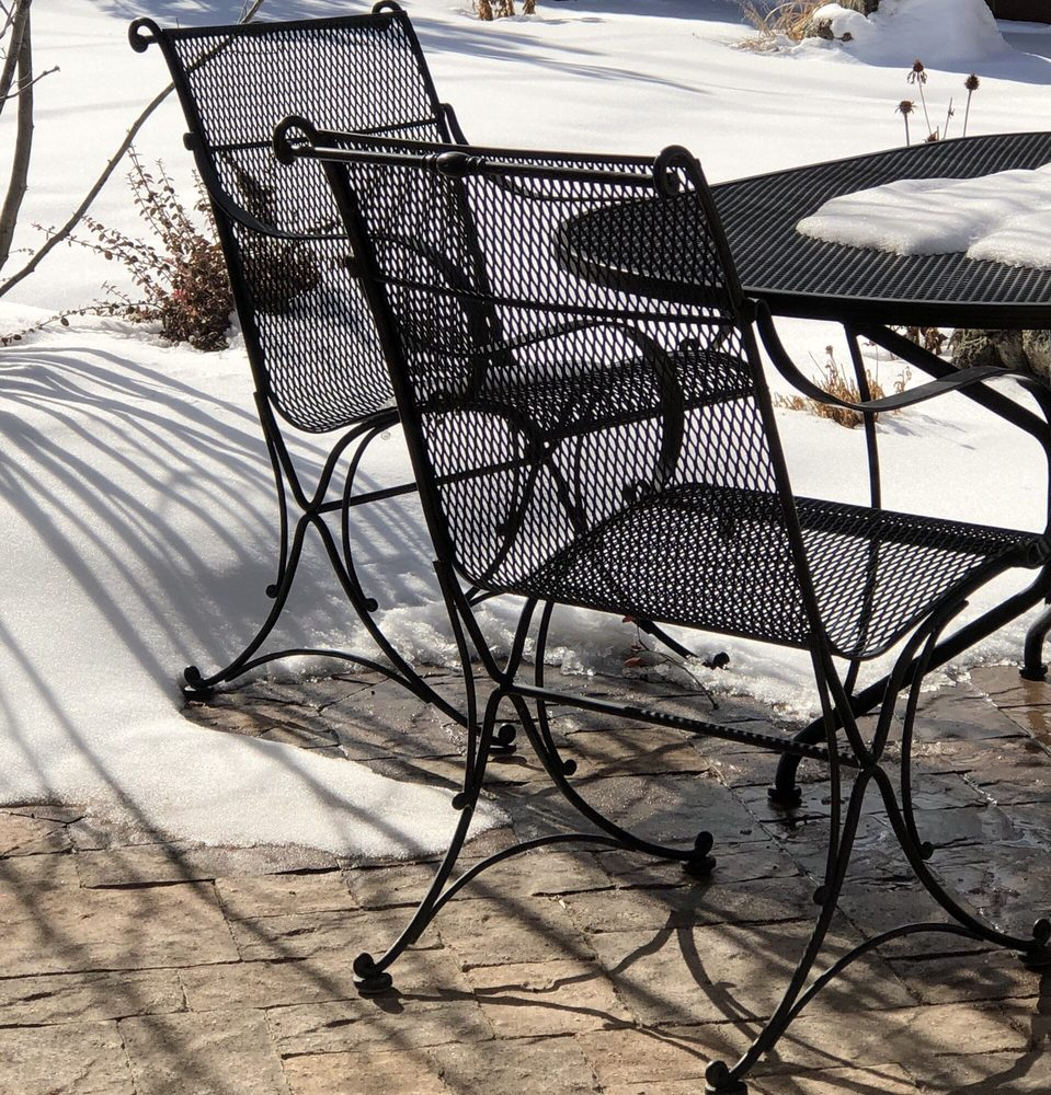 Our Woodard Patio Furniture Has Been Exposed To The Elements For