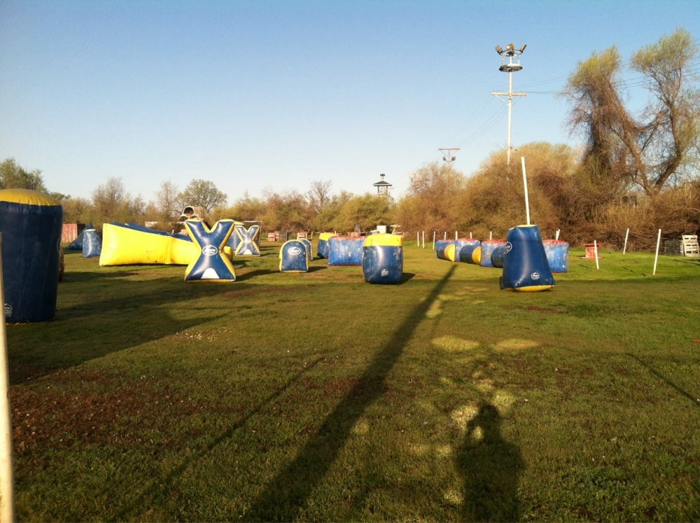 Combat Zone Paintball Park: 4444 Pacific Heights Rd, Oroville, CA