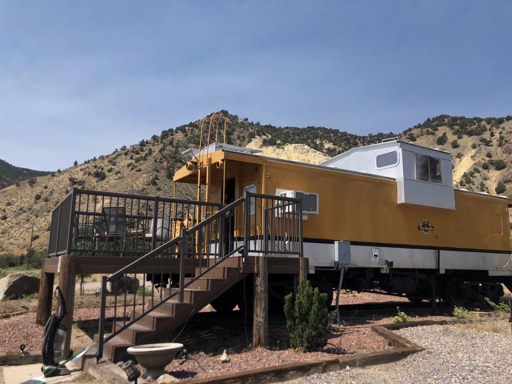 Big Rock Candy Mountain Resort: 4479 N Highway 89, Marysvale, UT