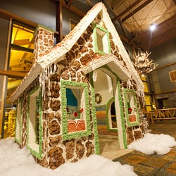 Snowland Gingerbread House at Great Wolf Lodge - 10 Photos ...