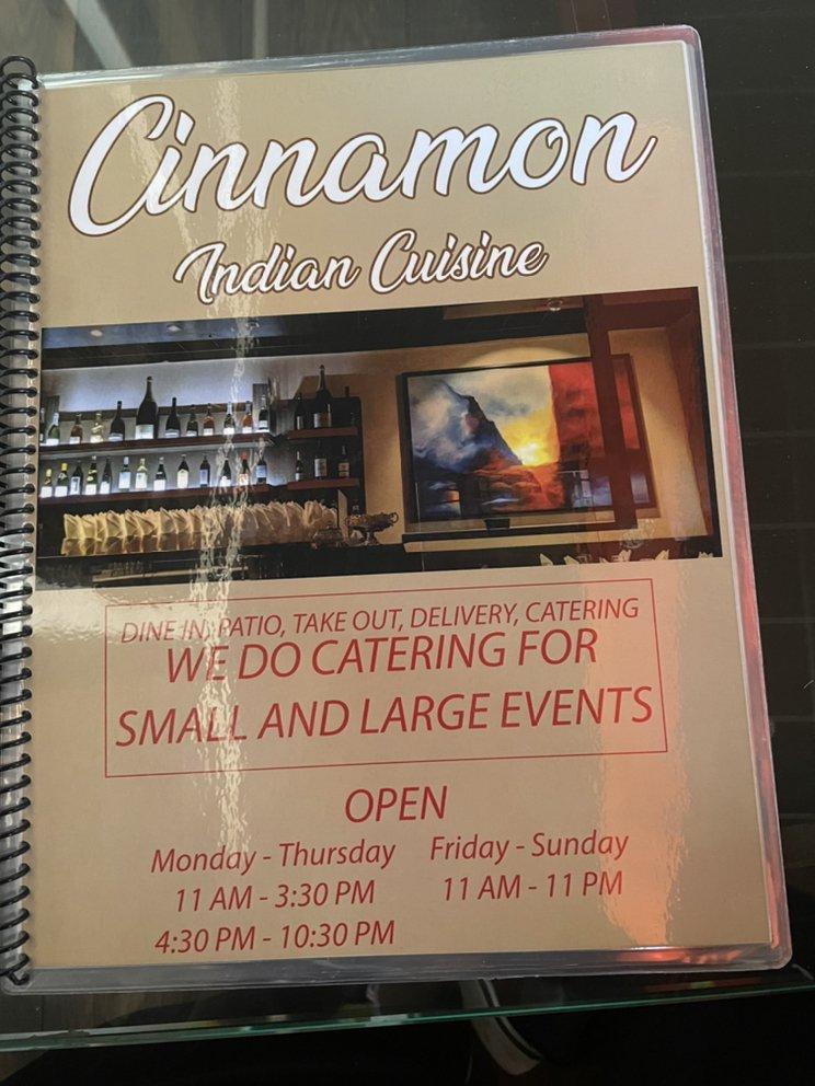 Cinnamon Indian Cuisine: 7233 Beverly Blvd, Los Angeles, CA