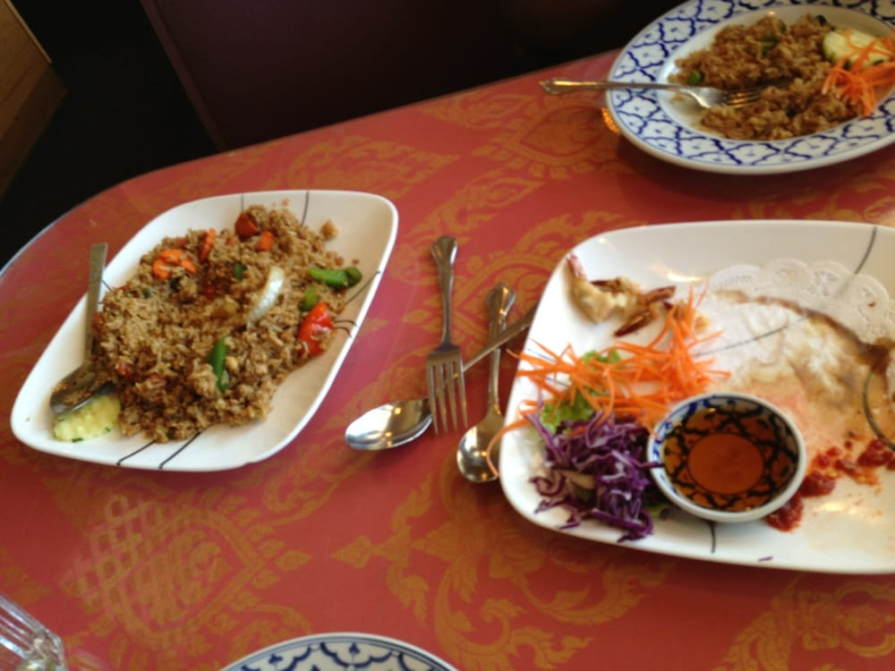Having spicy chicken fried rice yelp for At home thai cuisine
