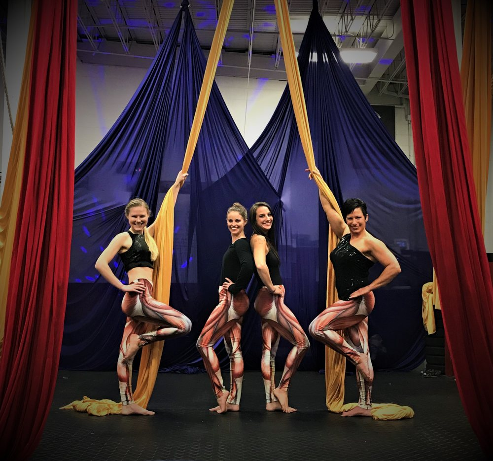 Pittsburgh Aerial Silks & Circus: 6800 Brighton Rd Rear, Pittsburgh, PA
