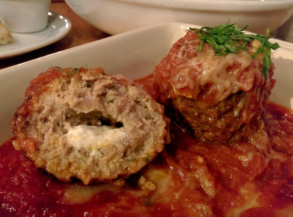 ricotta stuffed meatballs - Yelp