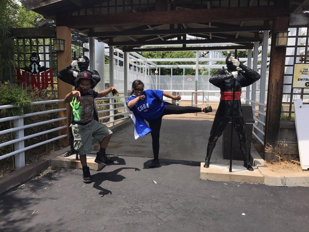 The Ninja: 4900 Six Flags Rd, Eureka, MO
