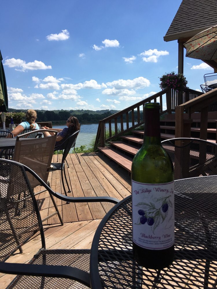The Ridge Winery & Tasting Room: 11048 E State Rd 156, Vevay, IN