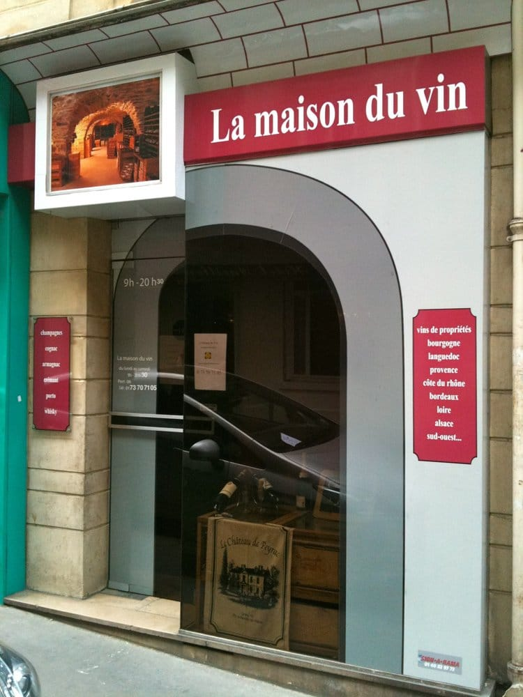 la maison du vin vinotecas 26 rue de la tour d 39 auvergne pigalle par s paris francia yelp. Black Bedroom Furniture Sets. Home Design Ideas