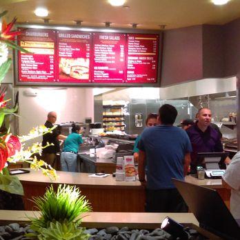 The Habit Burger Grill Northlake Blvd Palm Beach Gardens Fl