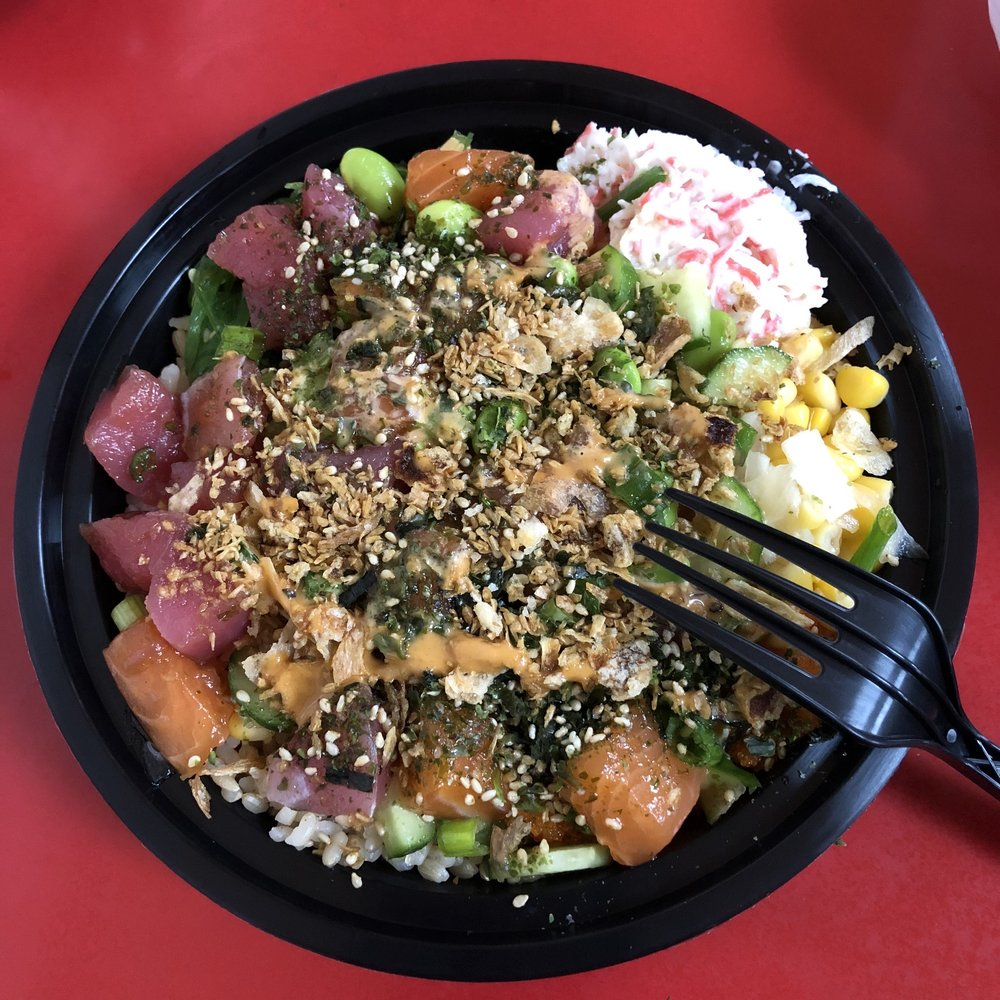 Food from ahipoki bowl
