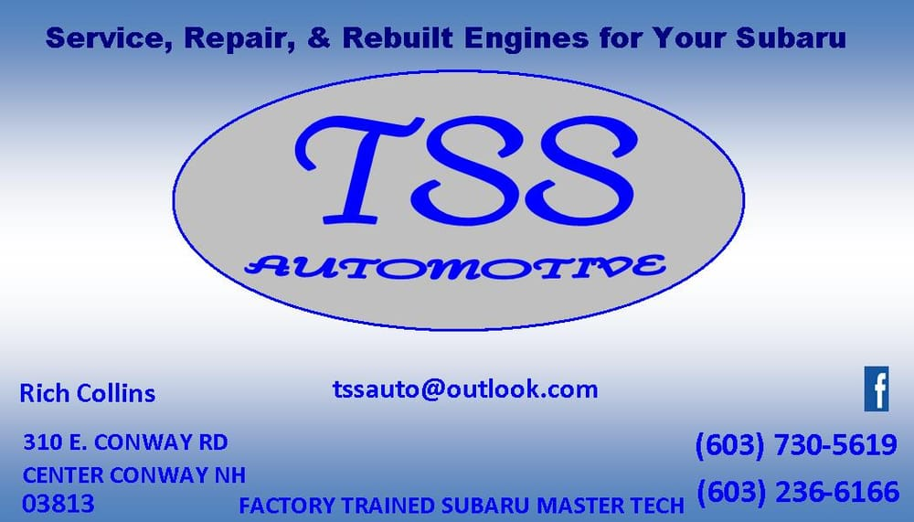 TSS Automotive: 310 E Conway Rd, Conway, NH