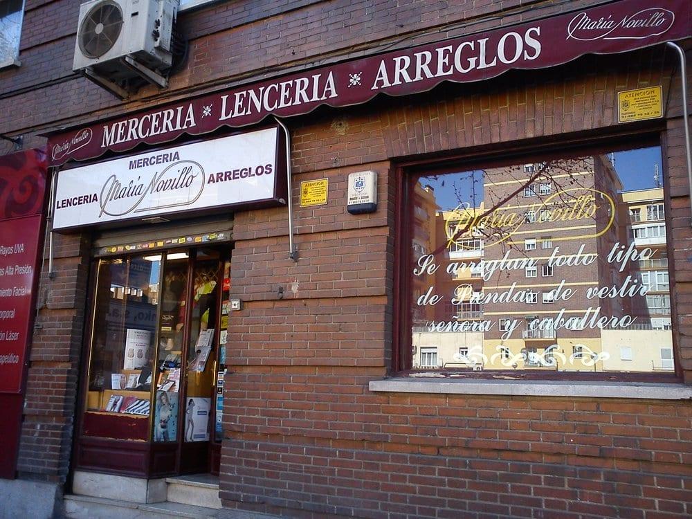 Mar a novillo cerrado tienda de telas avenida de - Telas salamanca ...