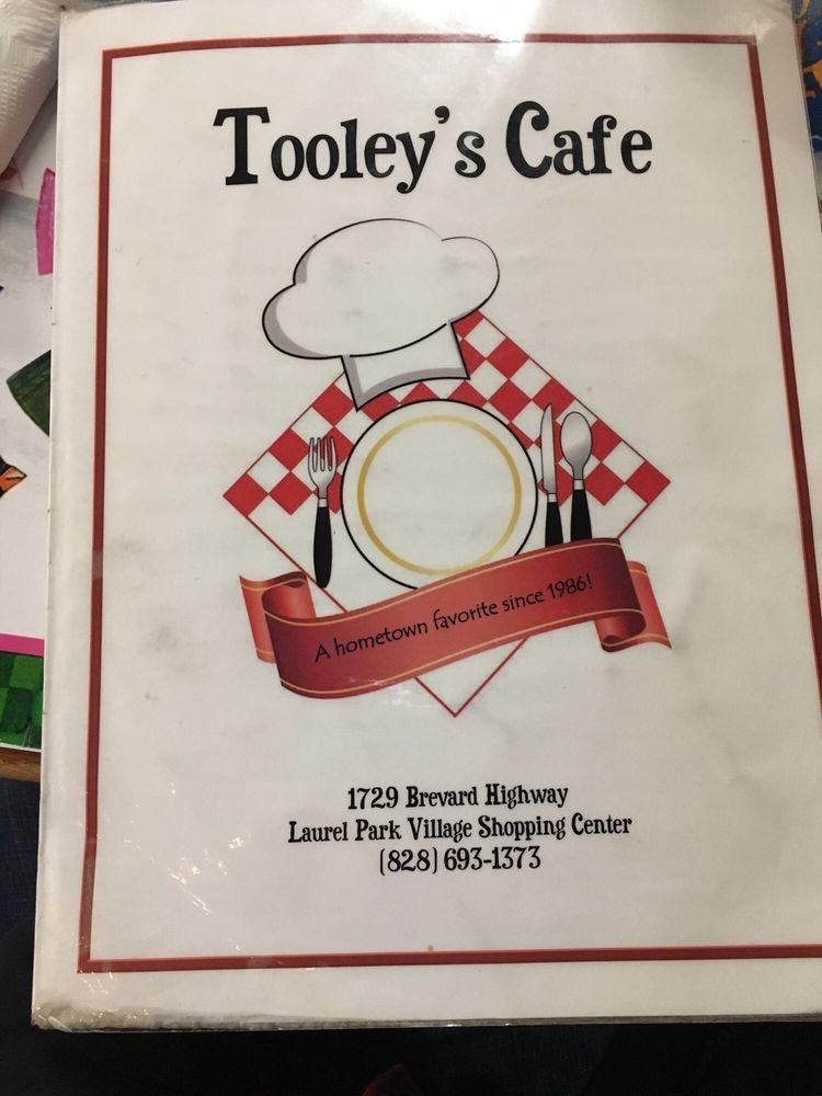 Tooley's Cafe: 1729 Brevard Rd, Hendersonville, NC