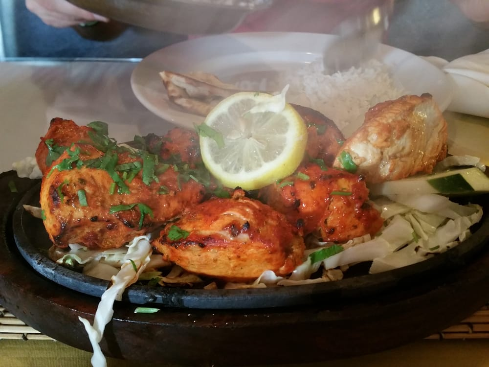 Tandoori chicken yelp for Angeethi indian cuisine