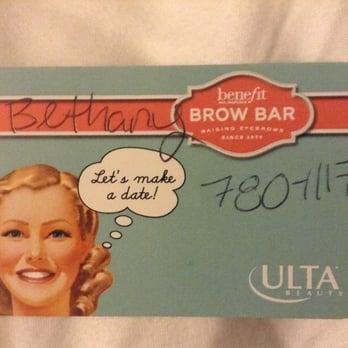 Benefit Brow Bar at Ulta - 11 Reviews - Makeup Artists - 1232 ...