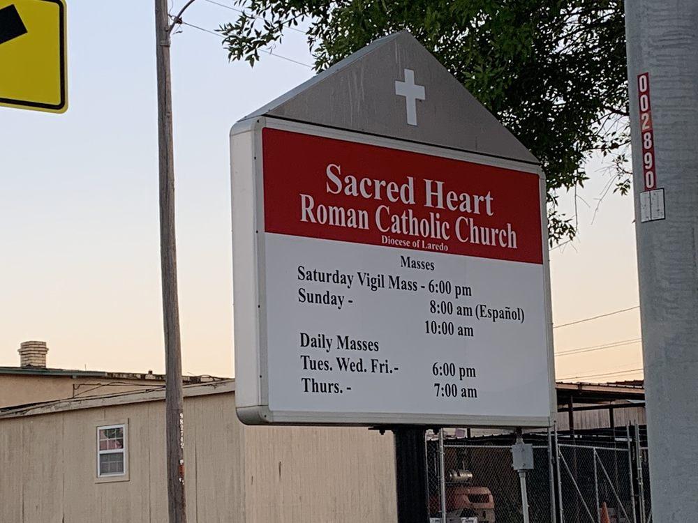 Sacred Heart Church: 307 S Main St, Cotulla, TX
