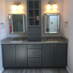 Photo Of Big Brothers Marble U0026 Granite   Baltimore, MD, United States.  Bathroom