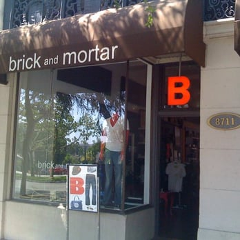 Photo Of Brick And Mortar West Hollywood Ca United States