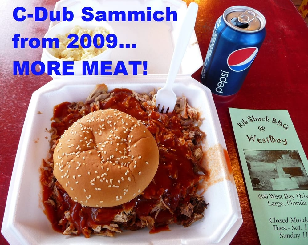 Smokin' Rib Shack: 426 W Bay Dr, Largo, FL