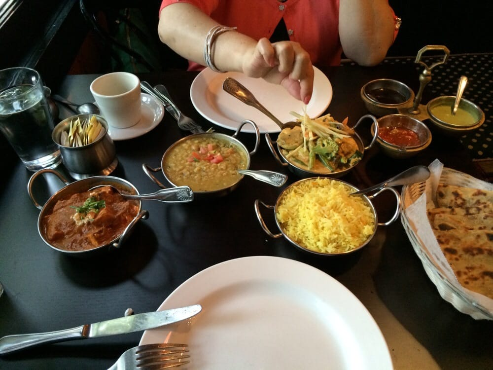 All veggi dinner really great service and food yelp for Anokha cuisine of india novato