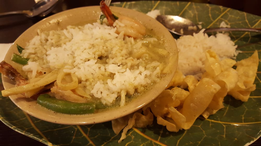 I Love The Green Curry Shrimp Yelp