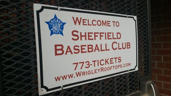 sheffield baseball club 3619 n sheffield chicago il athletic