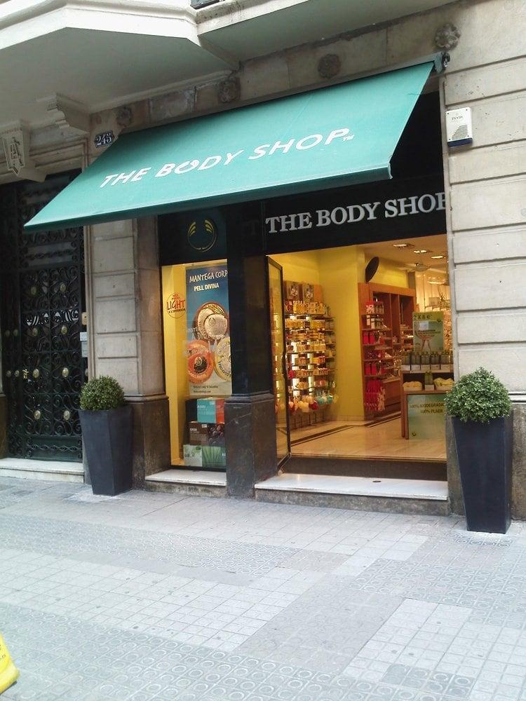 The body shop cosm ticos y productos de belleza carrer - The body shop barcelona ...
