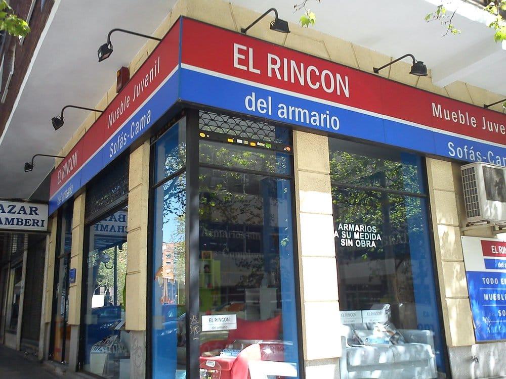 El rinc n del armario furniture stores calle del for Furniture stores madrid