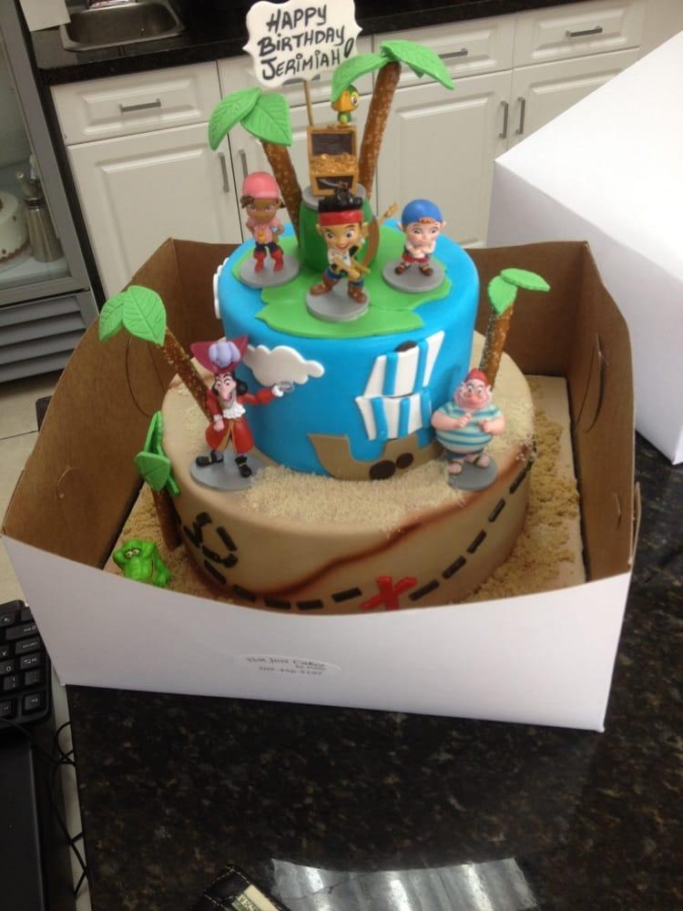 Jerimiah 2nd Birthday Cake Jake Neverland Pirates Yelp