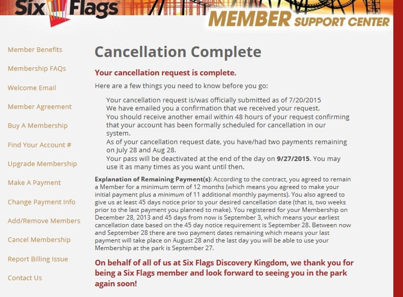 Beware of their cancellation policy for the season pass  The